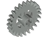 Technic, Gear 24 Tooth Crown (Undetermined Type), Light Gray (3650)