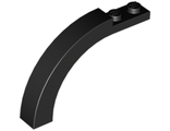 Brick, Arch 1 x 6 x 3 1/3 Curved Top, Black (6060 / 4294690 / 6056500 / 6185955)