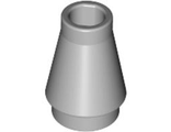 Cone 1 x 1 with Top Groove, Light Bluish Gray (4589b / 4211499 / 4529241)