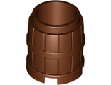 Container, Barrel 2 x 2 x 2, Reddish Brown (2489 / 4211147)