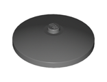 Dish 4 x 4 Inverted Radar with Solid Stud, Dark Bluish Gray (3960 / 4223981)
