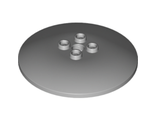 Dish 6 x 6 Inverted (Radar) - Solid Studs, Light Bluish Gray (44375b / 4211796)