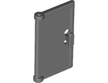 Door 1 x 2 x 3 with Vertical Handle, New Mold for Tabless Frames, Dark Bluish Gray (60614 / 4521386)