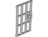 Door 1 x 4 x 6 Barred with Stud Handle, Light Bluish Gray (60621 / 4519882 / 4610149)