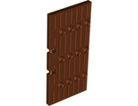 Door 1 x 5 x 8 1/2 Stockade, Reddish Brown (87601 / 4561911 / 6074916)