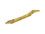 Hero Factory Weapon - Blade with Curved Tip, Pearl Gold (11305 / 6078381 / 6269071)