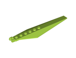 Hinge Plate 3 x 12 with Angled Side Extensions and Tapered Ends, Lime (57906 / 4506401 / 4656148)