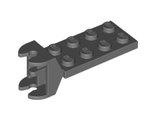 Hinge Plate 2 x 4 with Articulated Joint - Female, Dark Bluish Gray (3640 / 4237555 / 4265486)