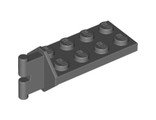 Hinge Plate 2 x 4 with Articulated Joint - Male, Dark Bluish Gray (3639 / 4237553 / 4264952)