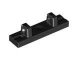 Hinge Tile 1 x 4 Locking Dual 1 Fingers on Top, Black (44822 / 4193108 / 4622570)