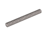 Hose, Ribbed 7mm D.  9L, Flat Silver (78c09 / 4141671 / 4275379 / 4495206 / 4620083 / 6081344)