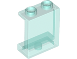 Panel 1 x 2 x 2 with Side Supports - Hollow Studs, Trans-Light Blue (87552 / 4640026 / 6253230)