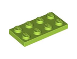Plate 2 x 4, Lime (3020 / 4164023 / 4534667 / 4537936)