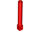 Support 1 x 1 x 6 Solid Pillar, Red (43888 / 4179577 / 6074910)