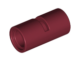 Technic, Pin Connector Round 2L with Slot Pin Joiner Round, Dark Red (62462 / 4529659 / 4539091 / 6173131)