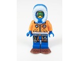 Arctic Explorer, Male with Green Goggles and Snowshoes, n/a (cty0497)
