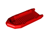 Boat, Rubber Raft, Large, Red (62812 / 4571142 / 6100961)