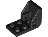 Bracket 3 x 2 - 2 x 2 (Space Seat), Black (4598 / 6021678)