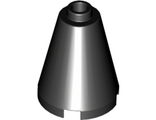 Cone 2 x 2 x 2 - Completely Open Stud, Black (3942c / 394226 / 6022160 / 6092664)