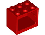 Container, Cupboard 2 x 3 x 2, Red (4532 / 453221 / 4619543)