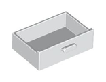 Container, Cupboard 2 x 3 x X Drawer, White (4536 / 4109736 / 4520636)