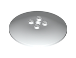 Dish 6 x 6 Inverted (Radar) - Solid Studs, White (44375b / 4514791)
