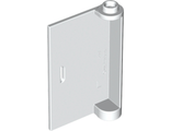 Door 1 x 3 x 4 Left - Open Between Top and Bottom Hinge, White (58381 / 4501778 / 4506668)
