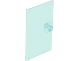 Door 1 x 4 x 6 with Stud Handle, Trans-Light Blue (60616 / 4520866 / 6247361)