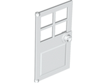 Door 1 x 4 x 6 with 4 Panes and Stud Handle, White (60623 / 4521943)