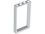 Door, Frame 1 x 4 x 6 with Two Holes on Top and Bottom, White (60596 / 4541956 / 6262945)