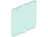 Glass for Window 1 x 2 x 2 Flat Front, Trans-Light Blue (60601 / 4519613 / 4537945 / 4552034 / 6023948 / 6254563)