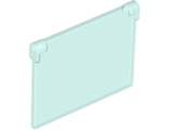 Glass for Window 1 x 4 x 3 - Opening, Trans-Light Blue (60603 / 6013633 / 6253735)