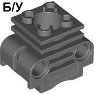 ! Б/У - Technic, Engine Cylinder with Side Slots, Dark Bluish Gray (2850 / 32061199 / 4260031) - Б/У