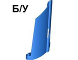 ! Б/У - Technic, Panel Fairing #21 Large Long, Small Hole, Side B, Blue (44351 / 4183314) - Б/У
