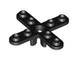 Propeller 4 Blade 5 Diameter with Rounded Ends, Black (2479 / 247926)