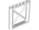 Support 1 x 6 x 5 Girder Rectangular, White (64448 / 4542616)