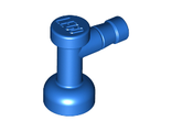 Tap 1 x 1 without Hole in Nozzle End, Blue (4599b / 459923)