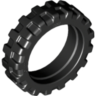 Tire 21mm D. x 6mm City Motorcycle, Black (50861 / 4244953 / 6064174)