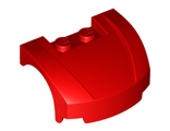 Vehicle, Mudguard 3 x 4 x 1 2/3 Curved Front, Red (98835 / 6031520)