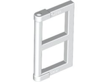 Pane for Window 1 x 2 x 3 with Thick Corner Tabs, White (60608 / 4520842 / 6171058)