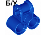 ! Б/У - Technic, Axle and Pin Connector Perpendicular Double, Blue (32291) - Б/У