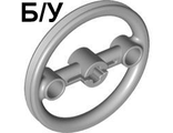 ! Б/У - Technic, Steering Pulley Large, Light Bluish Gray (3736 / 4264960 / 4542736) - Б/У
