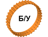 ! Б/У - Tread Large, Non-Technic (36 tread 'links'), Orange (x1681 / 4504604) - Б/У