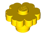 Plant Flower 2 x 2 Rounded - Solid Stud, Yellow (98262 / 6000022)