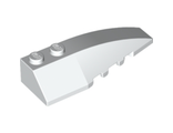 Wedge 6 x 2 Right, White (41747 / 4160101)