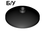 ! Б/У - Dish 3 x 3 Inverted (Radar), Black (43898 / 4180087) - Б/У