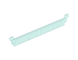 Garage Roller Door Section without Handle, Trans-Light Blue (4218 / 4188323 / 4258476)