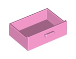 Container, Cupboard 2 x 3 x X Drawer, Bright Pink (4536 / 4599534)