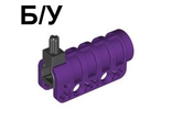 ! Б/У - Technic Competition Cannon, Round Bottom, Purple (32074c01 / 4114736) - Б/У