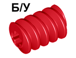 ! Б/У - Technic, Gear Worm Screw, Long, Red (4716) - Б/У